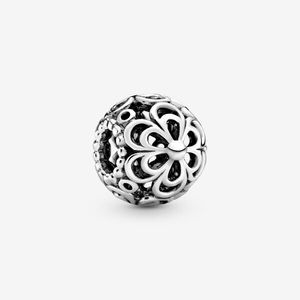 Openwork Apple Blossom Flower Charm